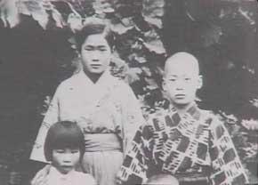 Токимуне Такеда в детстве
